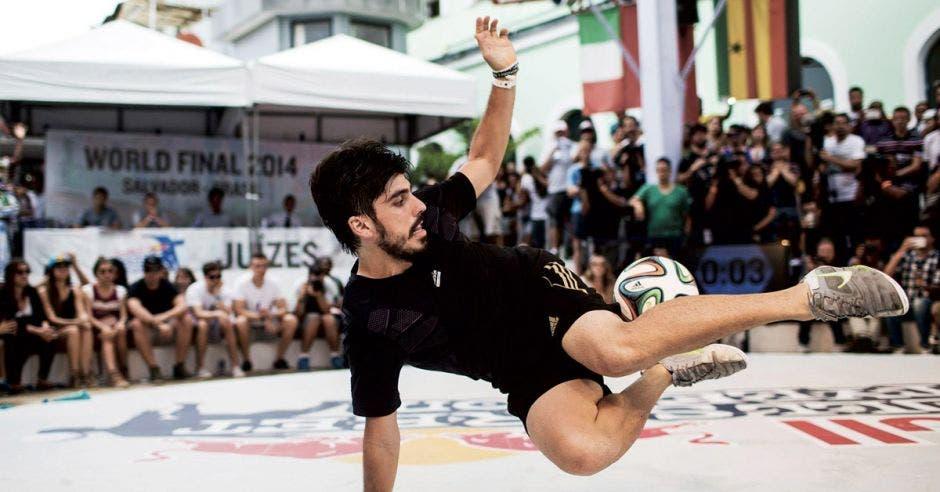 Costa Rica tendrá representante en Mundial de Fútbol de Freestyle