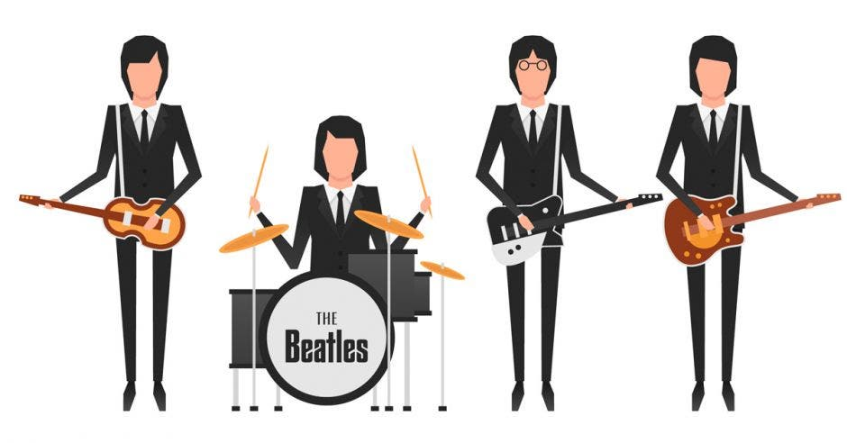 Cinco músicos nacionales realizarán tributo a la banda The Beatles