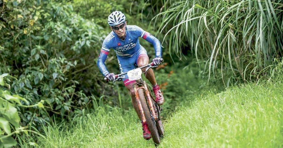 El pedalista tico es de los favoritos para ganar la prueba este año.