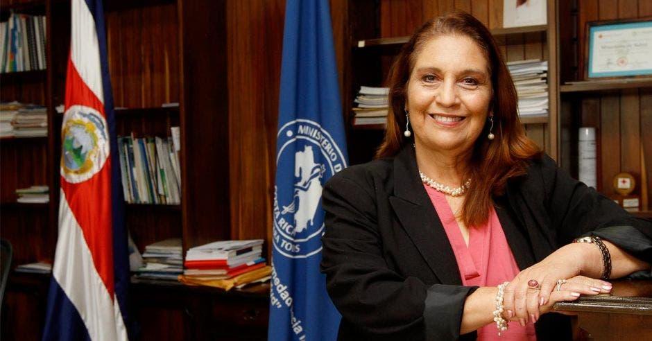 Giselle Amador, ministra de Salud