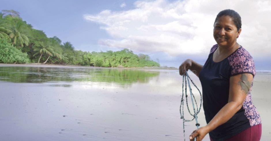 isla de Chira pescadora