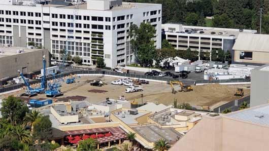Parte del terreno que compró Universal en Orlando para construir las atracciones.