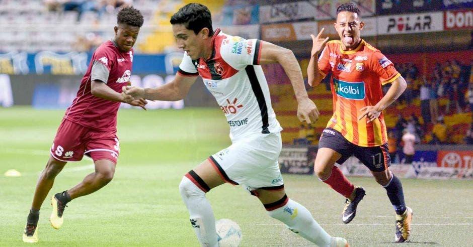 Jaylon Hadden (Saprissa), Barlon Sequeira (Alajuelense) y Jimmy Marín (Herediano) deben reventar pronto el capullo para figurar en la Sele.