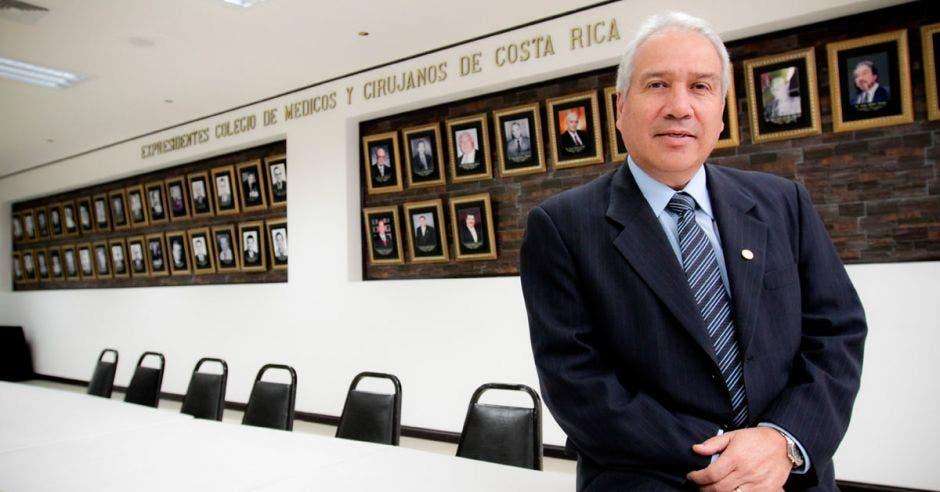 Andrés Castillo, presidente del Colegio de Médicos