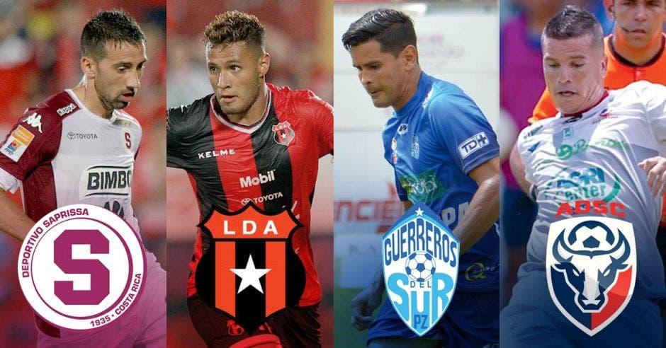 La lucha por jugar las semifinales está que arde. Hasta el momento Alajuelense, Saprissa, San Carlos y Pérez Zeledón están adentro.