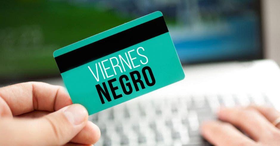 Una tarjeta de crédito
