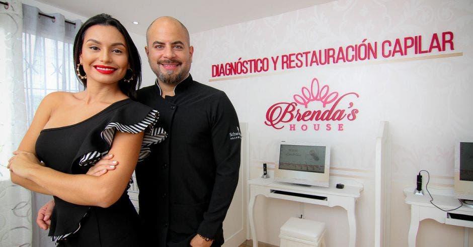Brenda Castro y Johnny Castro