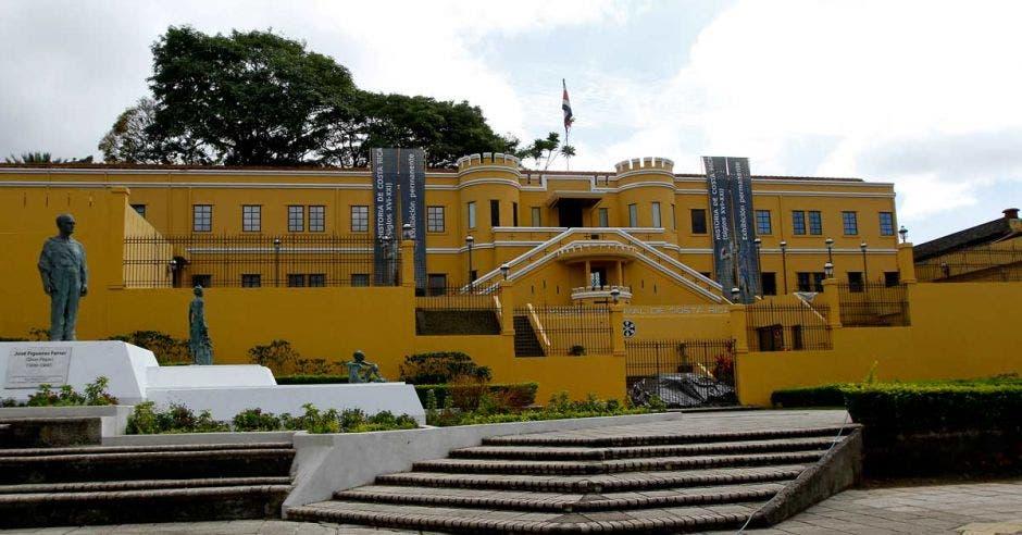 La fachada del Museo Nacional de Costa Rica