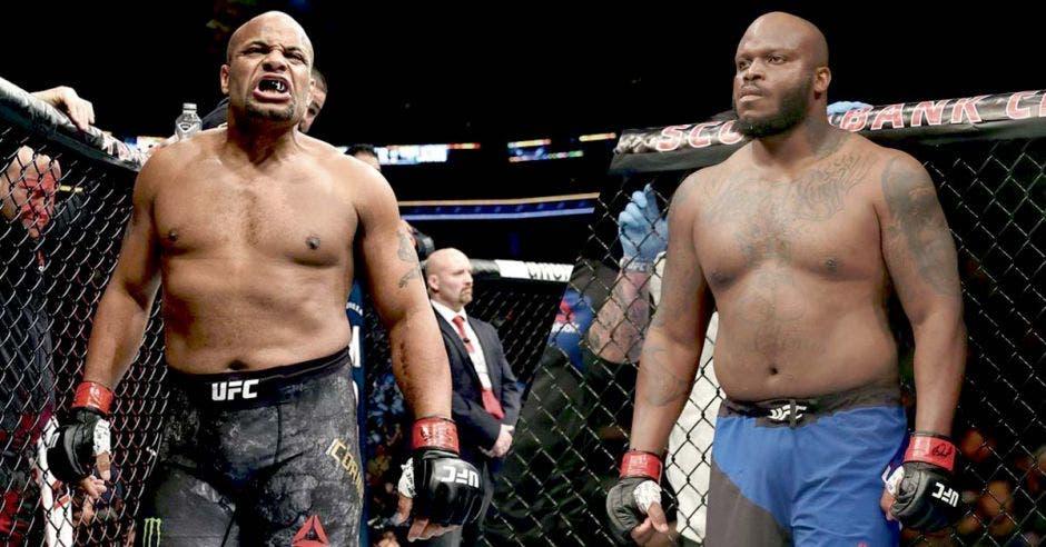 Cormier y Lewis pelearán en el Madison Square Garden en pelea pactada a cinco asaltos de cinco minutos cada uno. UFC/La República