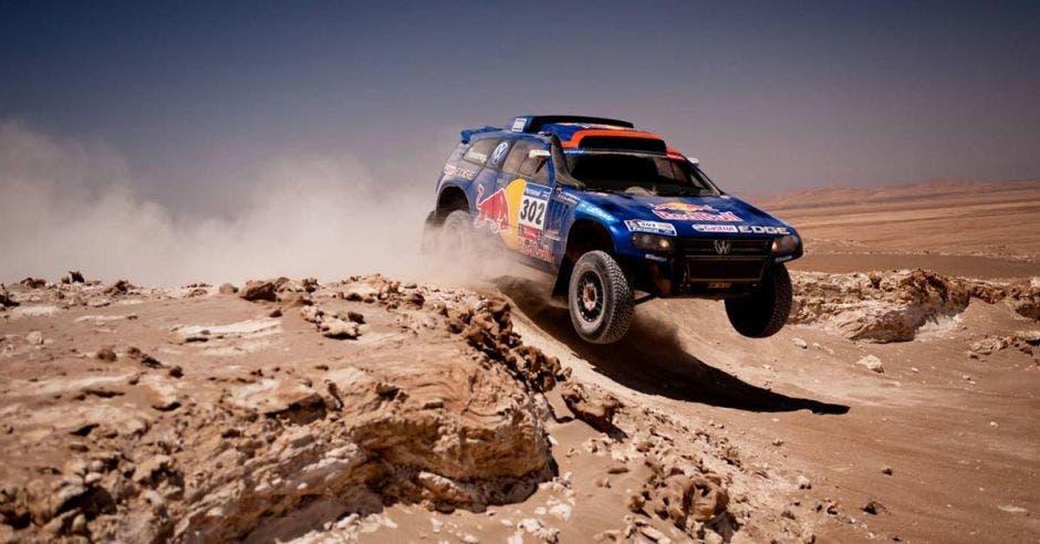 El Rally Dakar es la carrera más peligrosa del mundo. Red Bull/La República