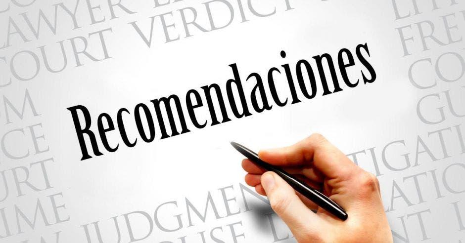 recomendaciomes