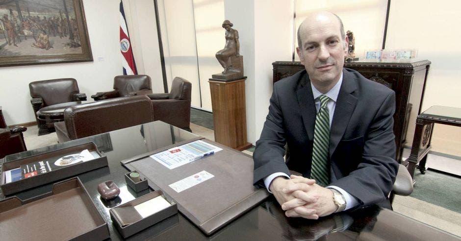 Rodrigo Cubero, presidente Banco Central