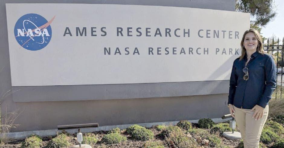 Mariela Rojas Quesada en la NASA