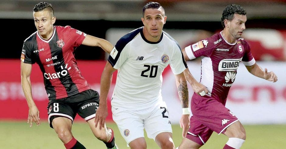 José Miguel Cubero y Michael Barrantes serían jugadores con experiencia que podrían aportar a la Tricolor. Archivo/La República