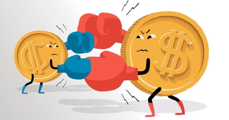 Dólar sigue subiendo en Costa Rica