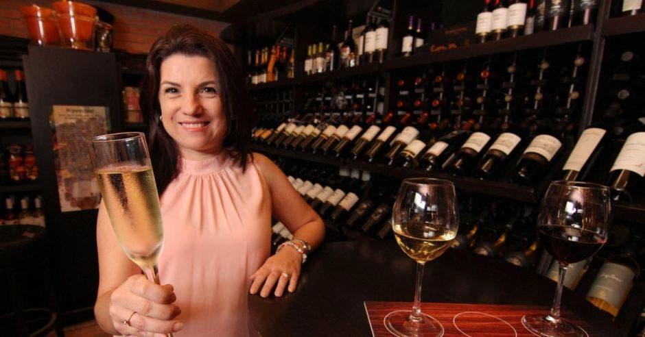 Eloísa Cordero, gerente del restaurante Limoncello