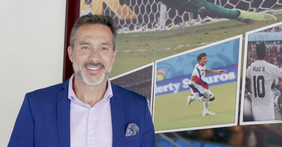 Gustavo Matosas recibió a los medios en la Federación Costarricense de Fútbol. Richard Blaser/La República