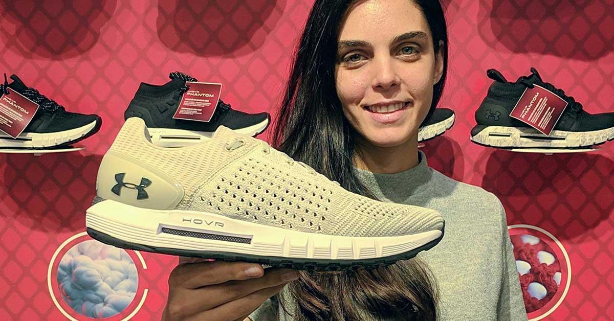 crecer Integración pintar  Under Armour lanzó colección de zapatillas para running con sensación  gravedad cero