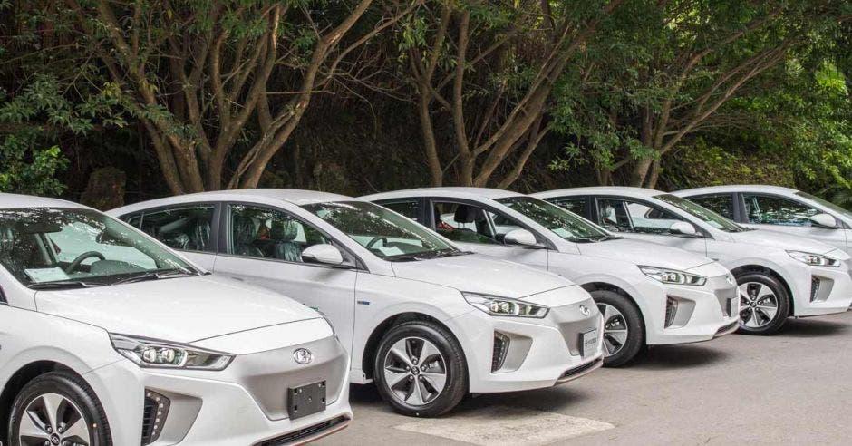 El Hyundai Ioniq eléctrico cuenta con motor de 88 kWh (equivalente a unos 118 caballos de fuerza). Cortesía Hyundai Costa Rica/La República