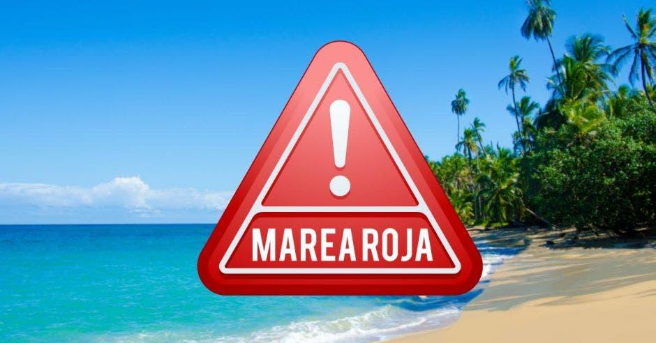 Signo de alerta ante marea roja