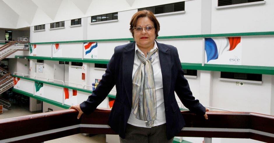 María Lourdes Montes de Oca, coordinadora académica del posgrado en Derecho de la Universidad Latina.