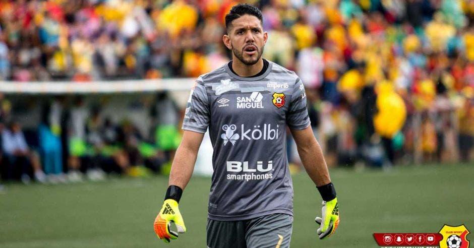 Leonel Moreira es además el segundo mejor meta del país por detrás de Keylor Navas. Facebook Herediano/La República