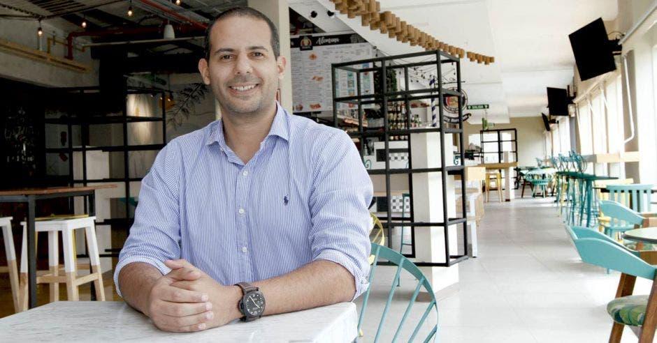 Marvin Segura, director de Proyecto Santa Verde.
