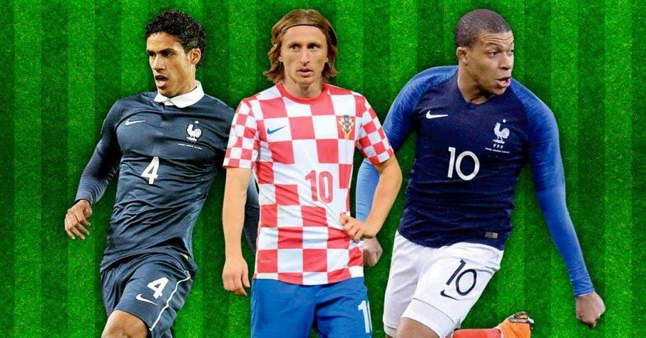 Raphael Varane, Luka Modric y Kylian Mbappé serían los finalistas al máximo galardón individual. FIFA/La República