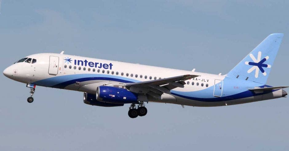avión de Interjet
