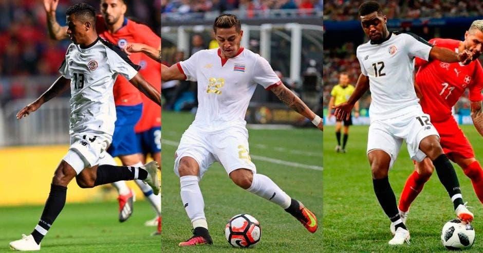 Allan Cruz: ocasiones de gol ante Chile y le abombó la red a Perú. Ronald Matarrita: fue defensa, volante y delantero. Joel Campbell: gestó tres de los seis goles y anotó de penal. Archivo/La República