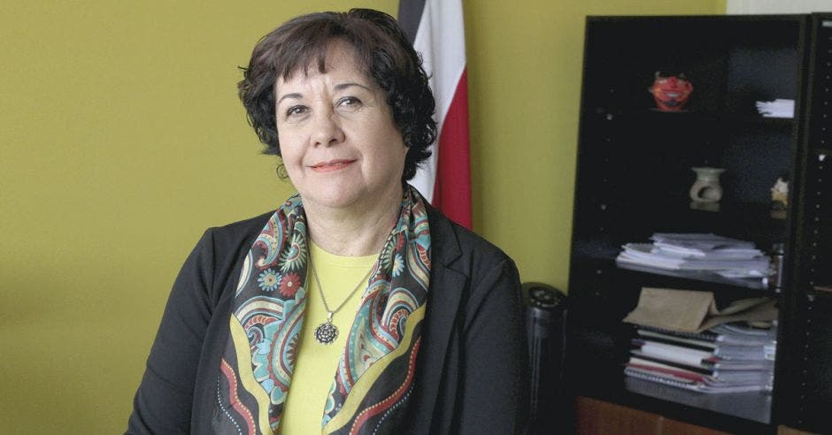 Giselle Cruz, viceministra de Académica del MEP.