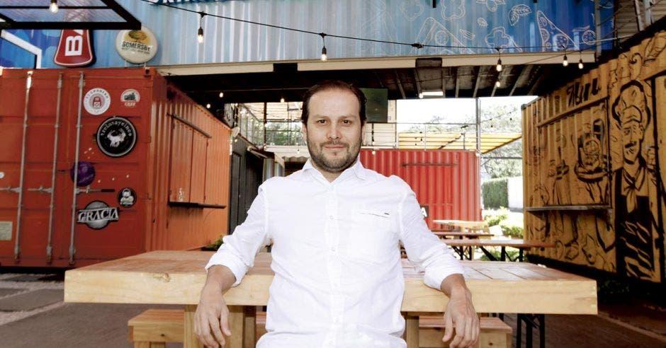Camilo Perilla, arquitecto de Containers Platz