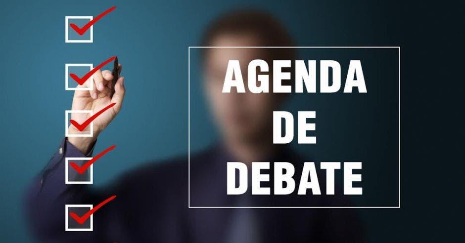 agenda de debate