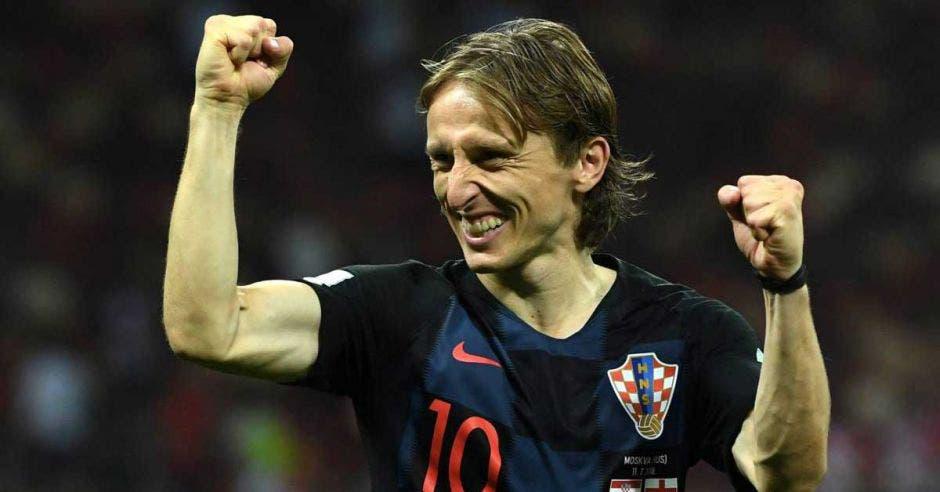 La revista France Football otorgó el premio al croata. FIFA/La República