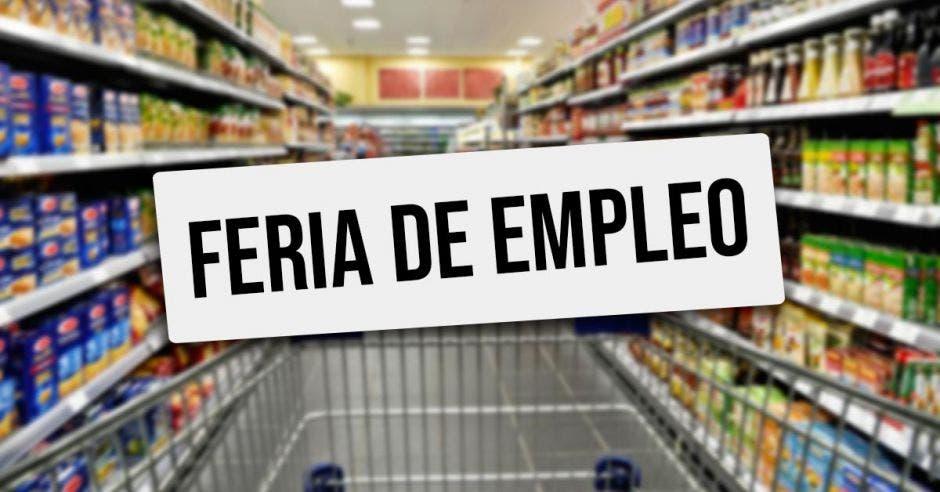 Feria empleo en súper mercados