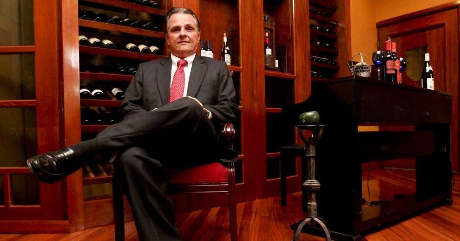 Johnny Riba, presidente de la Cámara de Hoteles.