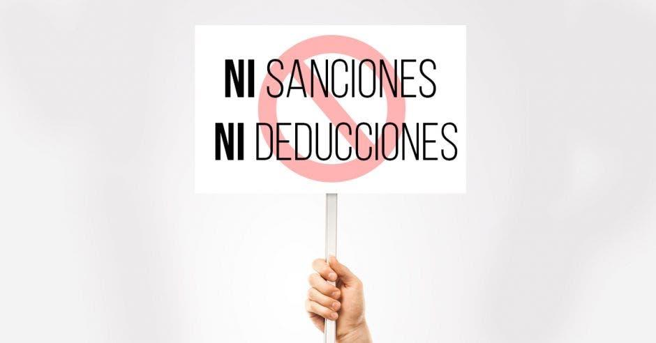 Ni sanciones ni deducciones