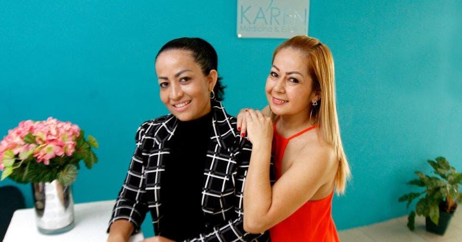 Gabriela y Luz Ramírez