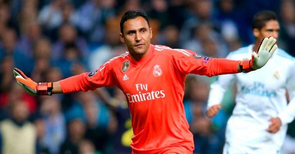 Keylor Navas: de su situación actual en el Real Madrid, se ofrecen versiones contradictorias. Archivo/La República