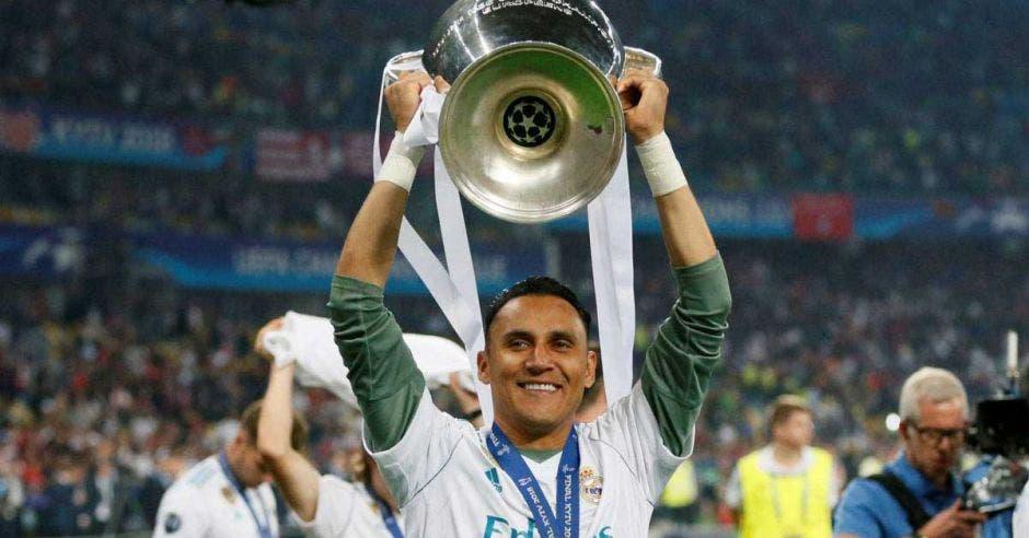 El tricampeón de Champions, Keylor Navas, fue nominado un año más. UEFA/La República