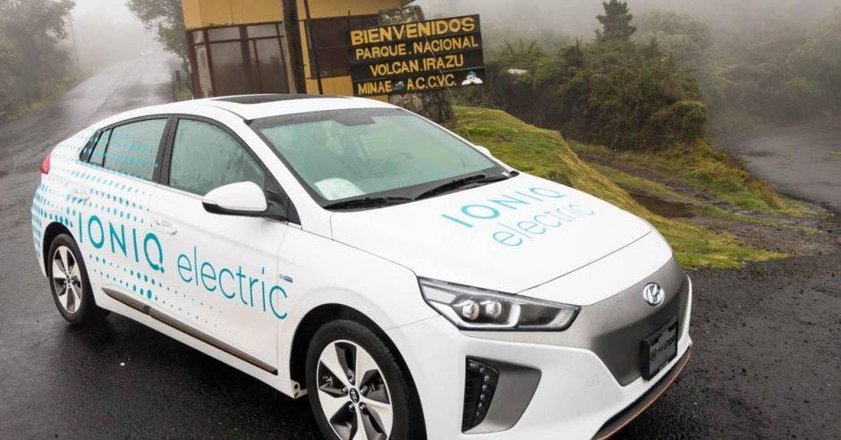 El Ioniq EV es el vehículo 100% eléctrico de Hyundai en el país. Cortesía Grupo Q/La República