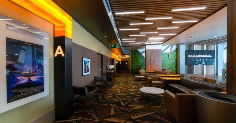 lobby del cine