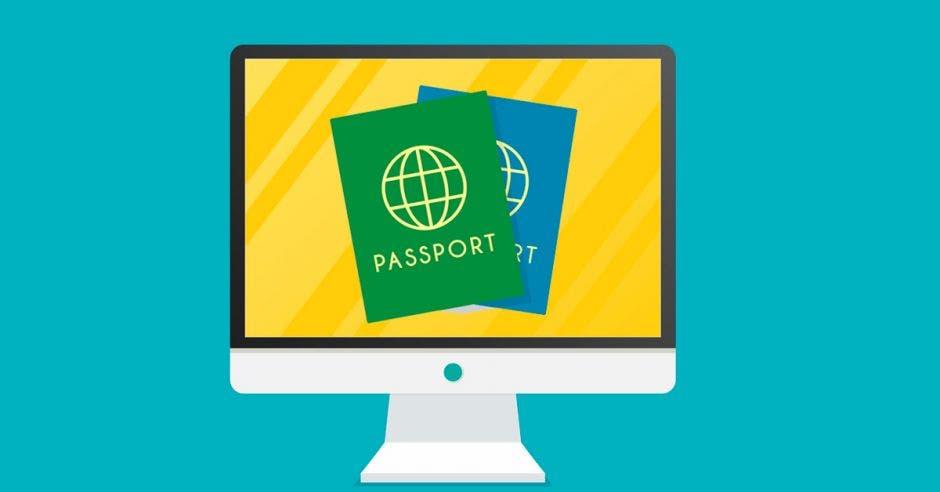 imagen de pasaportes