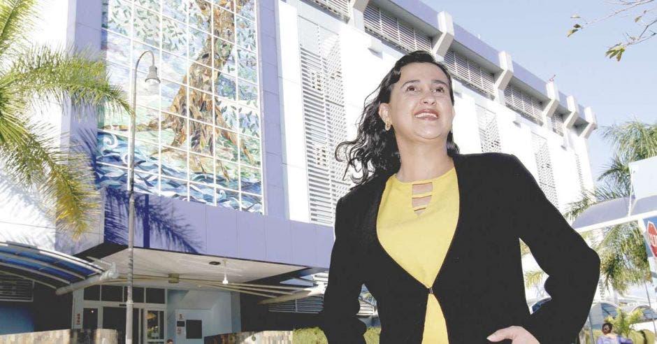 Laura Brenes, directora del Ministerio Árbol de la Vida del Hospital Clínica Bíblica.