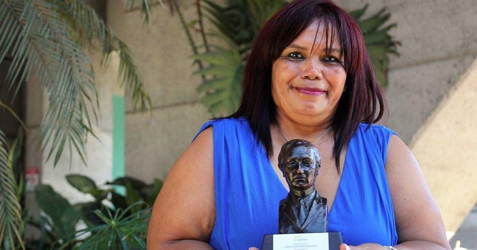 Deyanira Rodríguez, jubilada del Magisterio Nacional