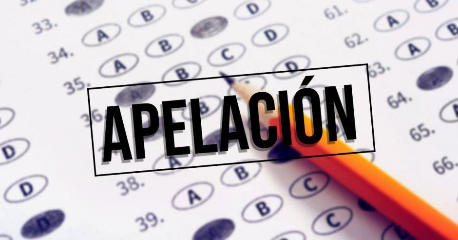 Apelaciones en exámenes de bachillerato