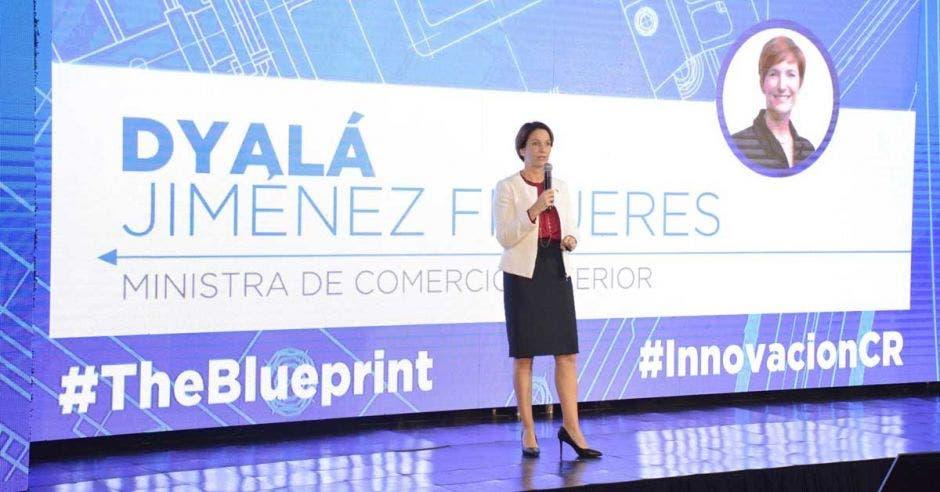 Dyalá Jiménez da una charla sobre The BluePrint