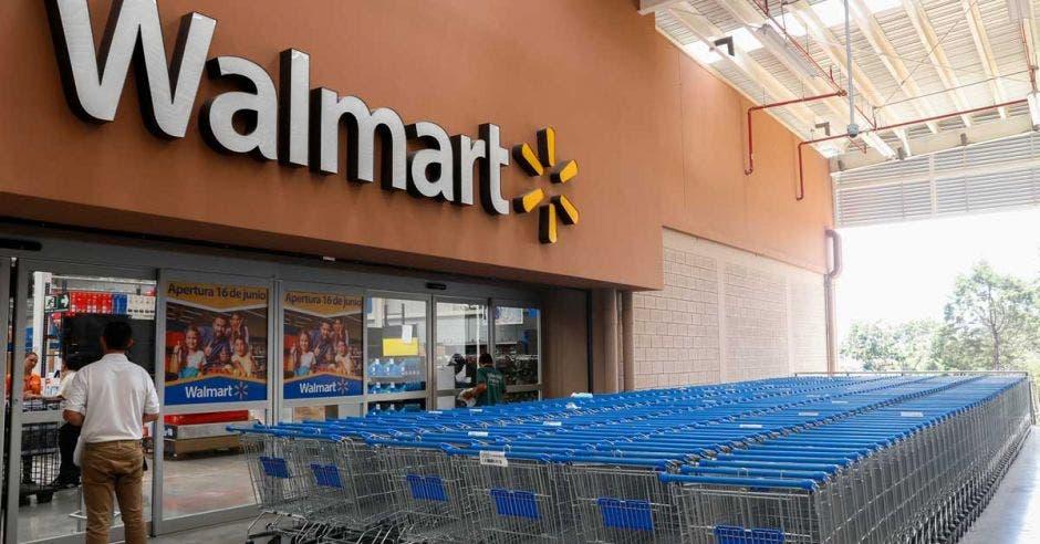 entrada de supermercado