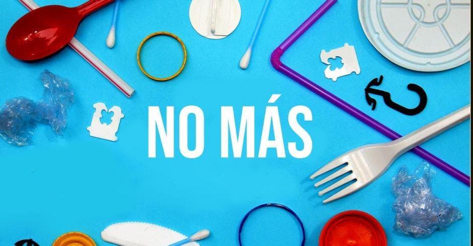No más plástico de un solo uso