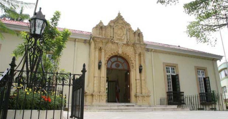 fachada de Cancillería